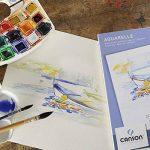 Canson Bloc 200005790 Papier aquarelle Blanc de la marque Canson image 1 produit