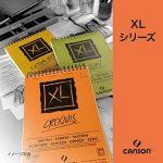 Canson Bloc dessin XL - Grain léger - 160g/m², 50feuilles par bloc - Spirale sur le côté court - Blanc 210 x 309 mm weiß de la marque Canson image 2 produit