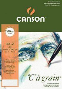 Canson C à grain 400060577 Papier à dessin Blanc Naturel de la marque Canson image 0 produit