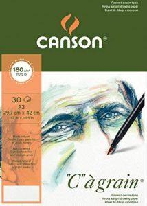 Canson C à grain 400060578 Papier à dessin Blanc Naturel de la marque Canson image 0 produit