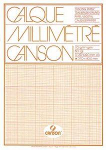 Canson Calque Millimétré Rouleau A3 29,7 x 42 cm Bistre de la marque Canson image 0 produit