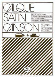 Canson Calque Satin 200757202 Papier calque A3 29,7 x 42 cm Translucide de la marque Canson image 0 produit
