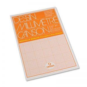 Canson Dessin Millimétré Papier à dessin A3 29,7 x 42 cm Bistre de la marque Canson image 0 produit