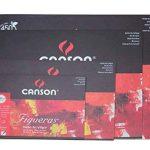 Canson Figueras Papier à dessin 33 x 41 cm 10 feuilles Blanc naturel de la marque Canson image 1 produit