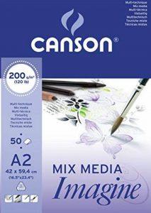 Canson Imagine 200006003 Papier à dessin Blanc de la marque Canson image 0 produit