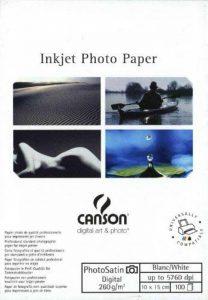 Canson InFinity Digital Photosatin Papier Photo Mat 100 Feuilles 260 g A6 Blanc de la marque Canson image 0 produit