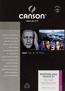Canson InFinity PhotoGloss Premium RC Papier Photo 25 Feuilles 270 g A4 Blanc de la marque Canson image 0 produit