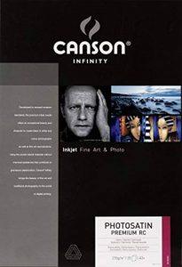Canson InFinity PhotoSatin Premium RC Papier Photo 25 Feuilles 270g A3+ Extra Blanc de Canson de la marque Canson image 0 produit