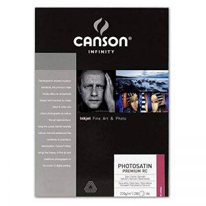 Canson Infinity Photosatin Premium RC Papier Photo Satin 250 Feuilles 270g A4 Extra Blanc de la marque Canson image 0 produit