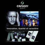 Canson InFinity Platine Fibre Rag Pochette Papier Photo 10 Feuilles 310 g A4 Blanc de la marque Canson image 5 produit