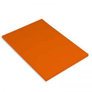 Canson Iris Vivaldi Papier couleur A4 Lisse 185g/m² 21 x 29,7 cm Orange Lot de 50 de la marque Canson image 0 produit