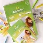 Canson Kids Papier à dessin 30 feuilles A3 29,7 x 42 cm Blanc de la marque Canson image 1 produit