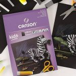 Canson Kids Papier couleur 10 feuilles A4 21 x 29,7 cm Noir de la marque Canson image 1 produit