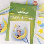 Canson Kids Papier à dessin 30 feuilles A3 29,7 x 42 cm Blanc de la marque Canson image 2 produit