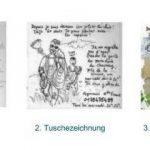CANSON Lot de 3 Blocs planche Manga Illustration BD 12 feuilles format A3 250g Blanc de la marque Canson image 1 produit