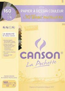 Canson Mi-Teintes Papier à dessin A3 29,7 x 42 cm 8 feuilles Pastellistes de la marque Canson image 0 produit