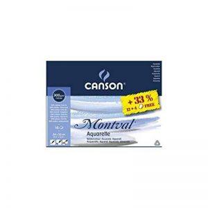 Canson Montval papier aquarelle Pad 24cm x 32cm de la marque Canson image 0 produit