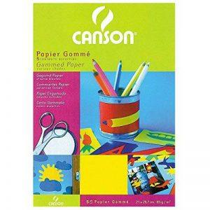 Canson Papier gommé Papier de bricolage 5 feuilles A4 21 x 29,7 cm Assorties de la marque Canson image 0 produit