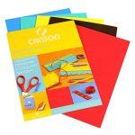 Canson Papier mousse Papier de bricolage 5 feuilles 20 x 29 cm Assorties de la marque Canson image 1 produit