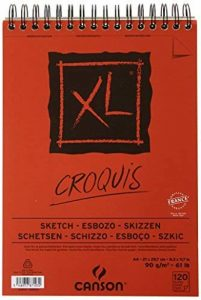 Canson XL Croquis 200787103 Papier à dessin 120 feuilles A4 21 x 29,7 cm 90 g Ivoire de la marque Canson image 0 produit