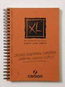 Canson XL Croquis 200787135 Papier à dessin 120 feuilles A4 21 x 29,7 cm 90 g Ivoire de la marque Canson image 0 produit