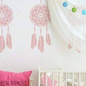 CAPTEUR des rêves pochoir nurserie décor maison pochoir peinture aux murs et aussi Personnalisez Fabrics & Meuble réutilisable - L/23X54CM de la marque Ideal Stencils image 0 produit