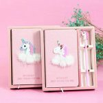 Carnet de notes journal Unicorn avec un stylo, Cahier à Spirale pour le Cadeau de enfant de la marque Newinstar image 4 produit