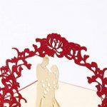 Carte 3D Amour Papier Spiritz Carte Pop up Mariage Carte 3D Love Wedding Anniversary Paper Carte Anniversaire de Carte du Nouvel an Chinois Cartes Femme de la marque Paper Spiritz image 1 produit