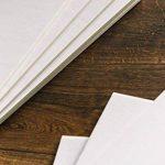 Carton mousse blanc A1 Produit Nation A1Blanc - 10feuillesde 5 mm d'épaisseur –Idéal pour des montages photos, des panneaux de mariage (594x 841mm) de la marque Product Nation image 4 produit