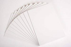 Carton mousse blanc A1 Produit Nation A1Blanc - 10feuillesde 5 mm d'épaisseur –Idéal pour des montages photos, des panneaux de mariage (594x 841mm) de la marque Product Nation image 0 produit