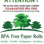 Casio rouleaux de caisse pour imprimante thermique 57x 70mm (20rouleaux) sans BPA–Sans BPC–BPS sans de la marque BPA Free Paper Rolls image 4 produit