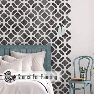 CHINOIS JARDIN Meubles Mur Sol Pochoir Pour Peinture - Meubles Petit de la marque Dizzy Duck Designs image 0 produit