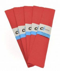 CI Tissue Lot de 10 cm x 2 m 50 Paquets de Papier crépon Rouge de la marque CI Tissue image 0 produit