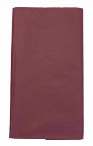CI Tissue Lot de 10 feuilles de papier de soie 17 g/m² Bordeaux 50 x 76 cm de la marque CI Tissue image 0 produit