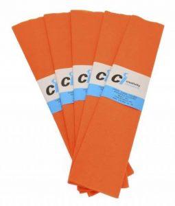 CI Tissue Lot de 10paquets de papier crépon Orange 50cm x 3m de la marque CI Tissue image 0 produit
