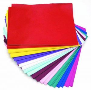 CI Tissue Lot de 480feuilles de papier de soie Couleurs assorties 50 x 76cm de la marque CI Tissue image 0 produit