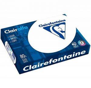 Clairalfa 1979C, Ramette 500 feuilles Papier 80g A4, Blanc de la marque Clairalfa image 0 produit