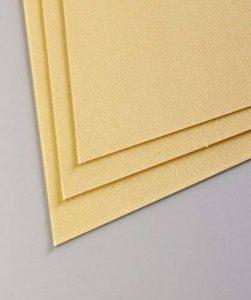 Clairefontaine 197012C Pastelmat paquet 5F 24x32cm 360g carte pour pastel Bouton d'Or de la marque Clairefontaine image 0 produit