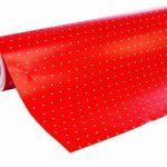Clairefontaine 201402C Rouleau papier cadeau Alliance 60g 50x0,70m Motif Pois sur fond rouge de la marque Clairefontaine image 1 produit