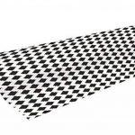 Clairefontaine 211200C Rouleau papier cadeau Alliance 60g,50x0,70m Motif Losanges noirs sur fond blanc de la marque Clairefontaine image 1 produit