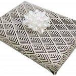 Clairefontaine 211406AMZC Carton de 12 Rouleaux papier cadeau 2 m x 70 cm motif Graphique de la marque Clairefontaine image 4 produit