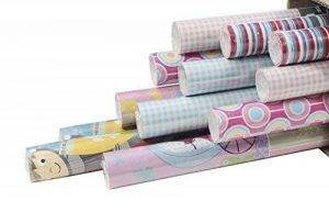 Clairefontaine 211407AMZC Carton de 12 Rouleaux papier cadeau 2 m x 70 cm motif Enfants de la marque Clairefontaine image 0 produit