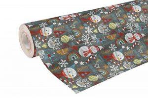 Clairefontaine 211755C Rouleau ALLIANCE 50 m x 70 m Motif Noël à la Craie de la marque Clairefontaine image 0 produit
