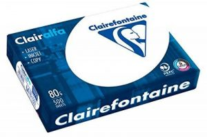 Clairefontaine 2230C - Ramette de 125 Feuilles De Papier Blanc A4 250g de la marque Clairefontaine image 0 produit
