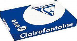 Clairefontaine 2895C - Clairalfa - Lot de 500 Feuilles de Papier - A3 - 90 g - Blanc de la marque Exacompta image 0 produit