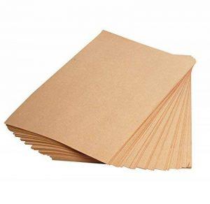 Clairefontaine 3708C Rame de papier 21 x 29,7 cm 250 Feuilles 90 g Kraft brun vergé de la marque Clairefontaine image 0 produit