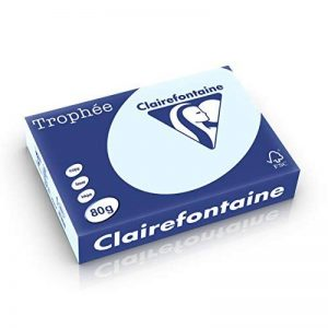 CLAIREFONTAINE 38763 Papier Trophée Multifonctions A4 80g/m2 Pastel Ramette Lot de 500 Rose de la marque Clairefontaine image 0 produit