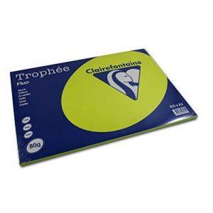 CLAIREFONTAINE 38973 Papier Trophée Personal Paper Pack Multifonctions A3 80g/m2 Lot de 100 Vert de la marque Clairefontaine image 0 produit
