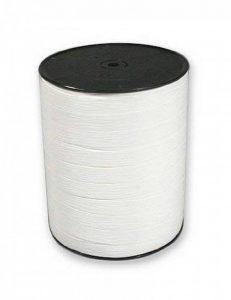 Clairefontaine 601501C Bolduc bobine mat 250mx10mm Couleur Blanc de la marque Clairefontaine image 0 produit