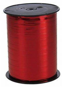 Clairefontaine 602006C Bolduc bobine métallisée 250mx7mm Couleur Rouge de la marque Clairefontaine image 0 produit